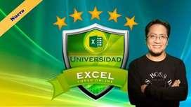 Universidad Excel – De Cero hasta Experto en Tiempo Record