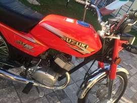 Suzuki AX 100 año 2018