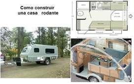 Planos Trailers Casa Rodante Vagon Extra