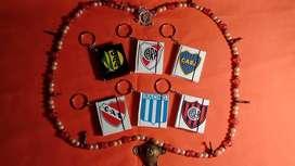 Mini cuadernos llaveros Cuadros de Fútbol