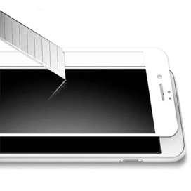 Film Glass Vidrio Templado iPhone 8 Plus Curvo 9h 4d