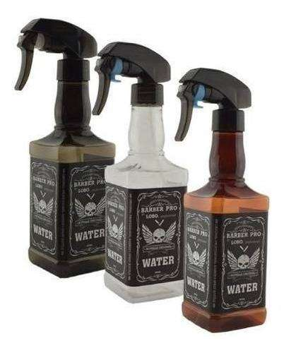 Atomizador 500 Ml. Barbero Botella Whisky Env Inmediato 0