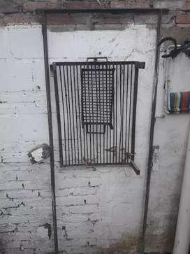 Marco de hierro para puerta