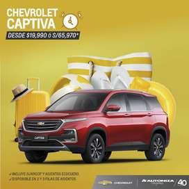 CHEVROLET CAPTIVA AÑO 2020 DESDE $19,990
