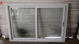 Ventana Corrediza Modena Aluminio 1150 x 1120 con vidrio