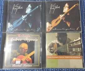 Lote 4 CDs de Grandes Guitaristas (20% Off)