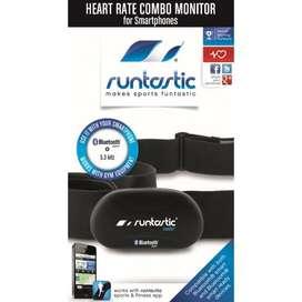 Monitor de pulsaciones RUNTASTIC se conecta via bluetooth al celular