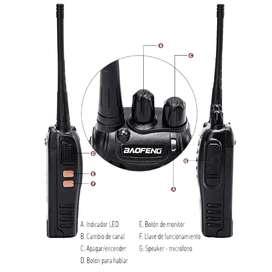 Radios 888s walkie talkie de comunicación Baofeng