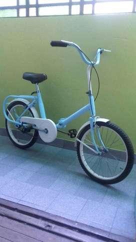 Bici Plegable Vintage Rodado 20