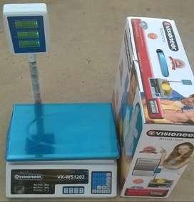 Balanza 40kg Digital Electronica Doble Visor Bascula Comercial