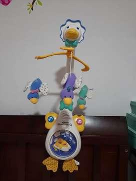 Movil proyectir Bebe 4 En 1 Mami Pata Vtech
