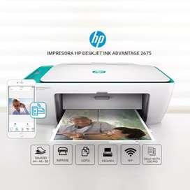 Impresora multifuncional hp 2675 con wi fi
