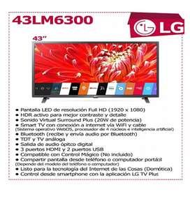 Smart TV LG 43LM6300