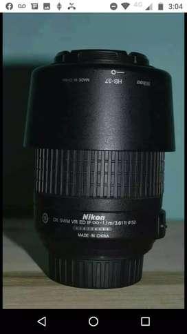 Lente Nikon 55-200mm Af-s F/4-5.6 G Ed Vr