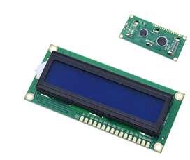 Lcd Azul Pantalla +i2c 1602 Para Arduino Lcd Uno R3 Mega