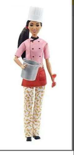 Barbie Muñeca Morena Chef De Pasta Original