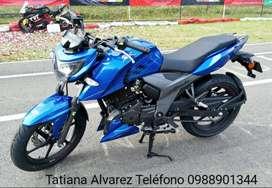 MOTO TVS APACHE  RTR 160 OFERTA CHIMASA S.A