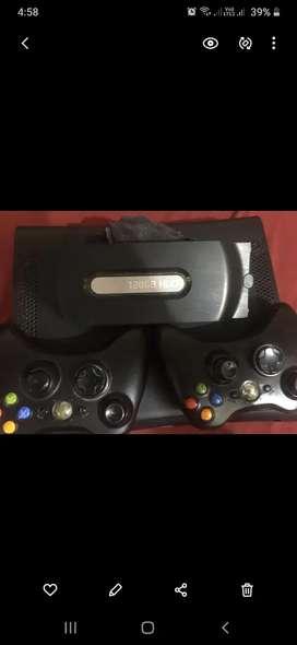 Xbox 360  con dos palancas