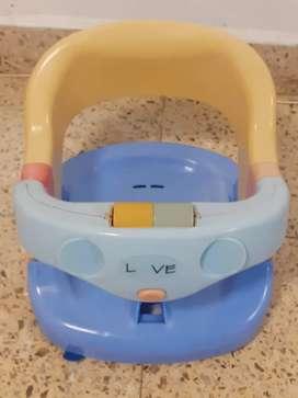 Asiento baño bebe