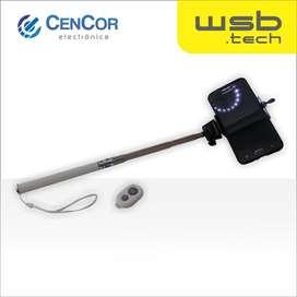 Selfie Stick con Bluetooth WSB.tech! CenCor Electrónica