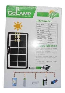 Panel Solar Energia 8 Watt 6 Voltios 1.3a Puerto Usb Cl-680