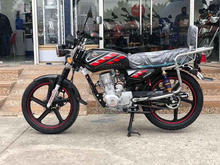 Motocicleta Oromoto para trabajo OM125X JF 0