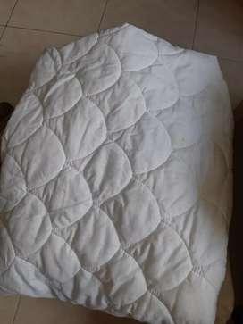 Forro protector de colchón 1 metro x 1.60