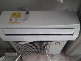 aires de 12.000btua 110v inverter nuevos instalados