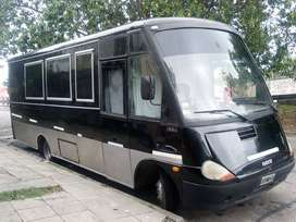Minibus Food Truck