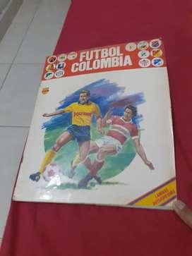 Albunes de futbol colombiano (coleccion)