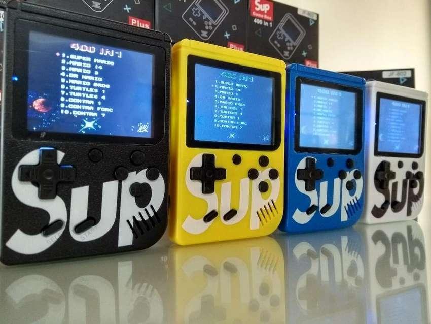 Video Juego Consola Game Box Retro 400 J 0