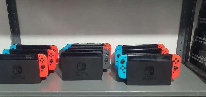 Nintendo switch usado con juegos no offline