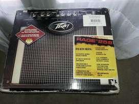 Amplificador peavy 25W rms modelo rage 258 igual a nuevo en caja