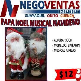 PAPA NOEL MUSICAL NAVIDEÑO