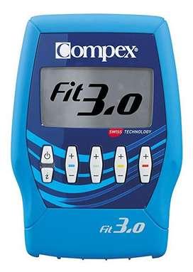 Electroestimulador Portátil Compex Fit 3.0 - 4 Canales