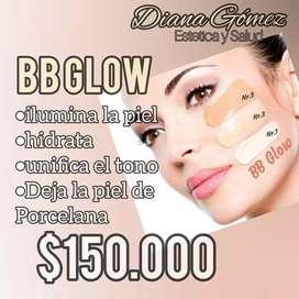 BB glow piel de porcelana