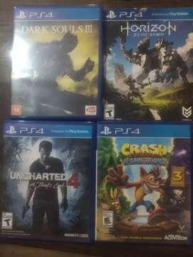 Vendo lote de juegos ps4