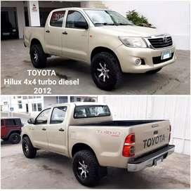 Toyota Hilux 4x4 turbo diesel 2012