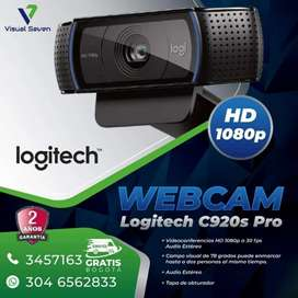 Cámara Logitech C920s