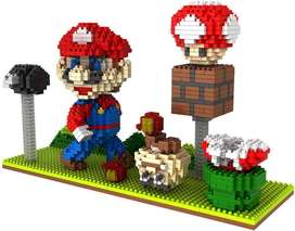 LEGO DIDACTICO DE MARIO BROSS Y LUIGUI EL JUGUETE ES IGUAL AL DE LA IMAGEN