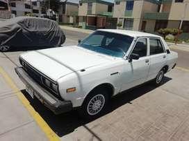 Vendo auto Datsun Stanza año 81, perfecto estado, todo original, llantas nuevas, con transferencia.
