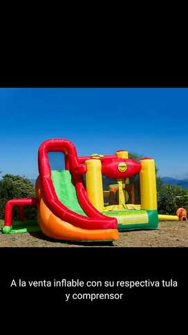 Vendo inflable familiar Excelente y de oportunidad