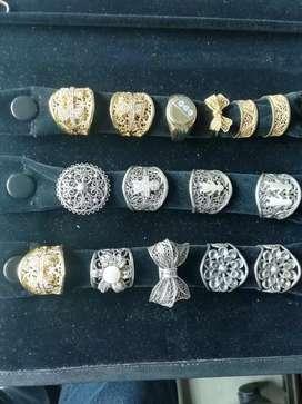 Anillos filigrana y varios nuevos en plata ley 925