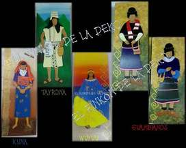 Cuadros Indígenas de Colombia