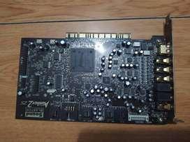 Tarjeta de sonido Sound Blaster Audigy2 ZS