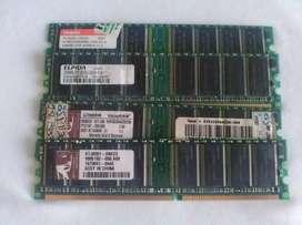 PROMOCIÓN MEMORIAS DE 256 MB DE ALTA CALIDAD DDR400MHZ PC 3200
