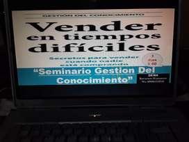 """SEMINARIO GESTION DEL CONOCIMIENTO : """"COMO VENDER EN TIEMPOS DIFICILES""""."""