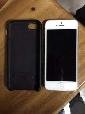 Vendo iPhone 5 solo redes