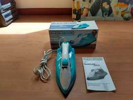 Se vende plancha black AND Decker en perfecto estado