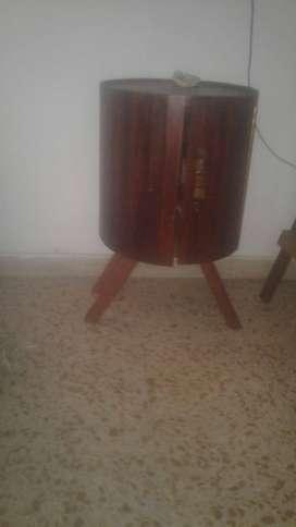 barril bar rustico